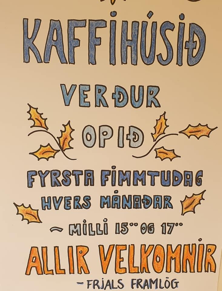 Í dag, fimmtudag, milli kl.15:00 og 17:00, allir velkomnir - hér er allt að verð...