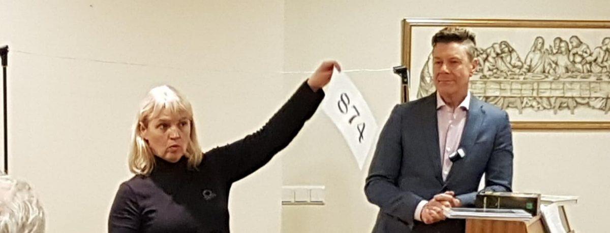 Takk fyrir komuna Jónína Erna og Bergþór ! Fjölbreytt og skemmtileg dagskrá og f...