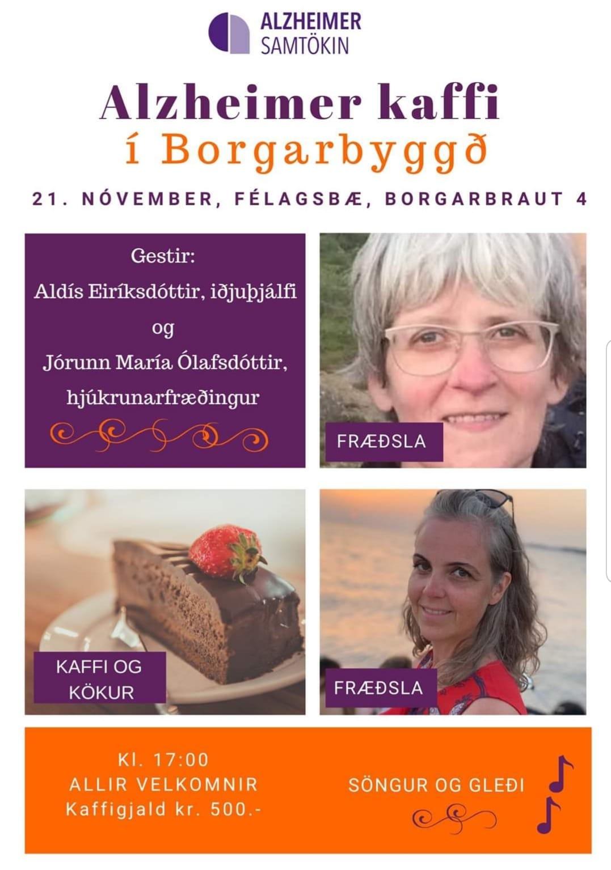 Við í Brákarhlíð vekjum athygli á Alzheimerkaffi á fimmtudaginn kemur, þann 21. ...
